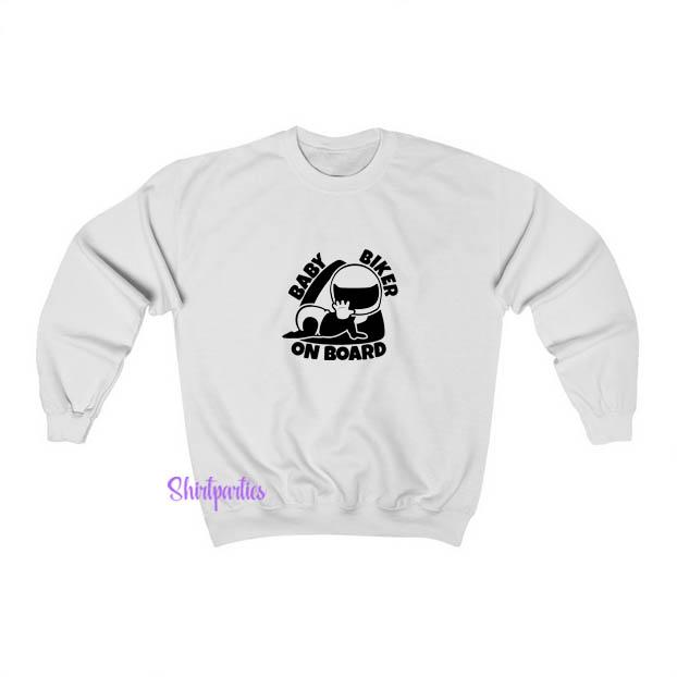 Biker Baby Sweatshirt EL13JN1