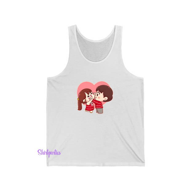 Cute Couple Valentine Tank Top ED25JN1