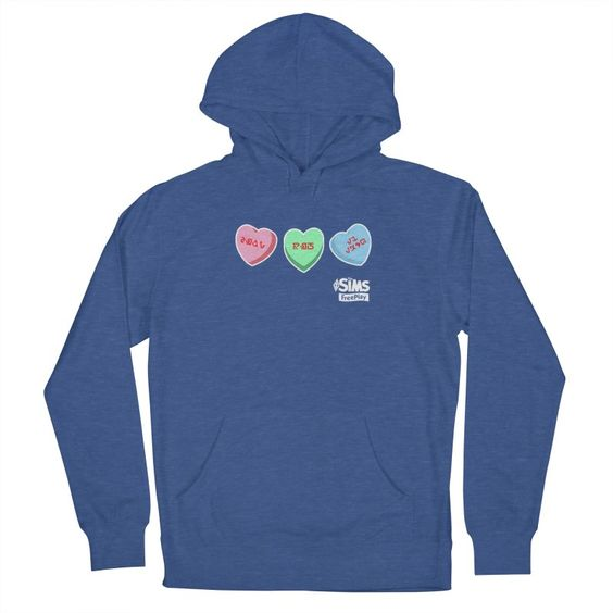 The Sims FreePlay Candy Hearts Hoodie DI25F1