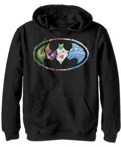 Batman Villains Hoodie SR18MA1
