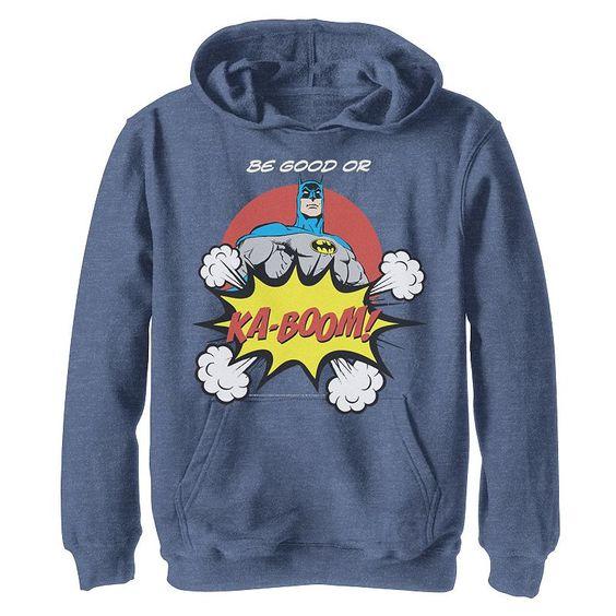 Be Good Batman Hoodie SR18MA1